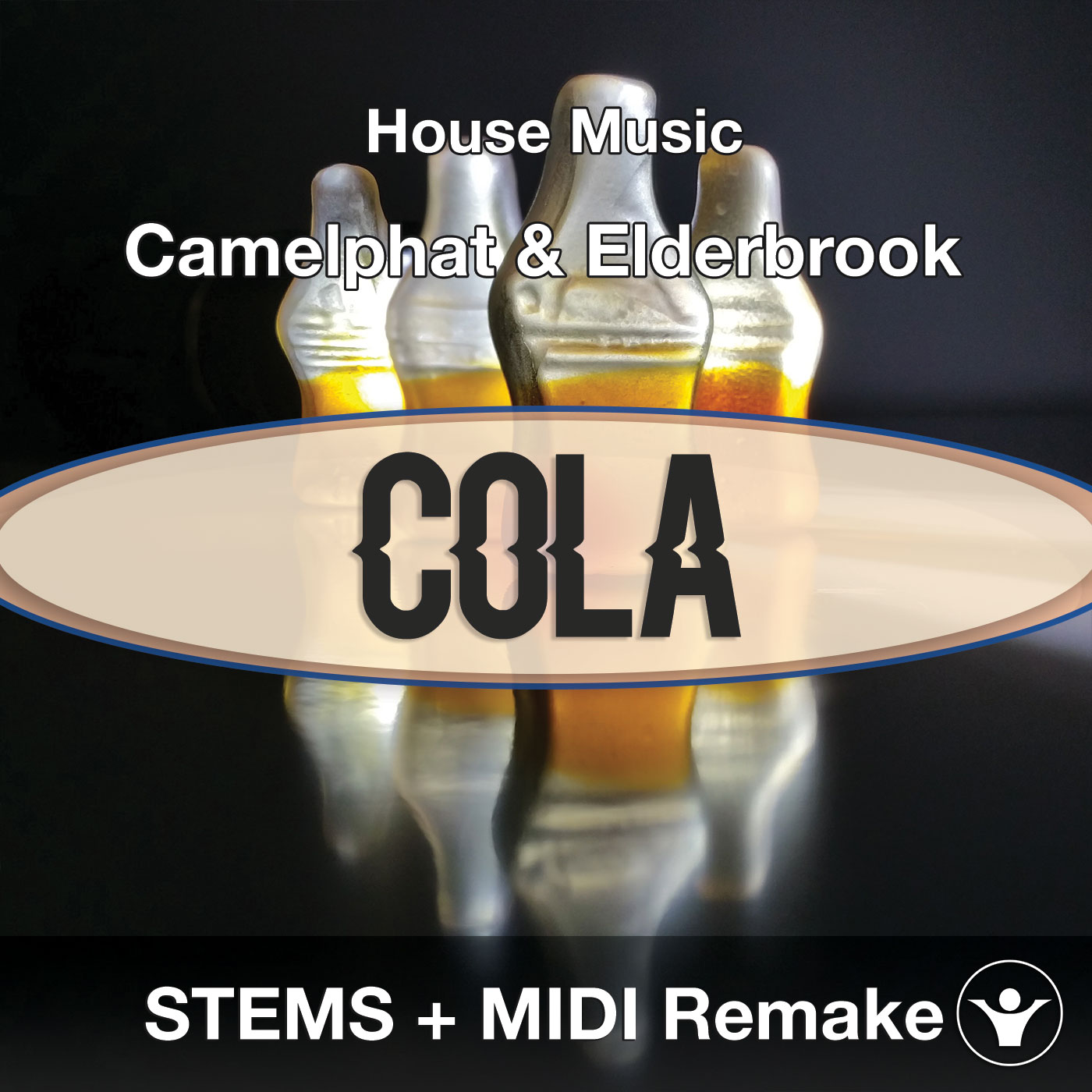 Camelphat & Elderbrook - Cola Full STEMS + MIDI Cover