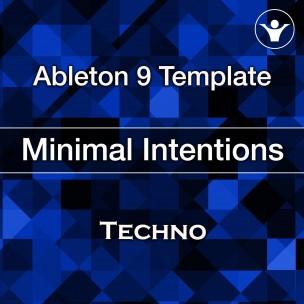 Minimal techno ableton template