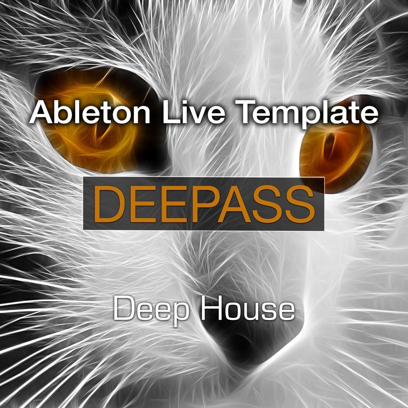 Deepass (incl. APC40 session)   Ableton Template